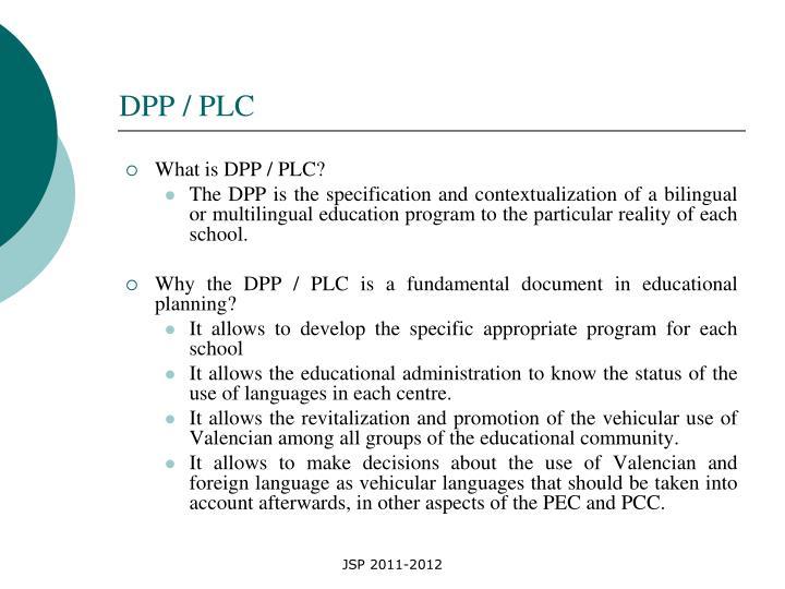 DPP / PLC
