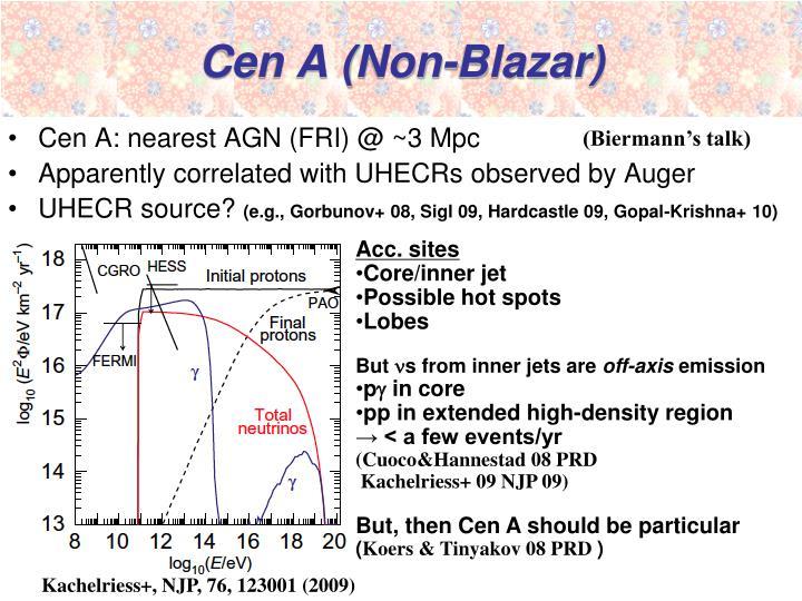 Cen A (Non-Blazar)