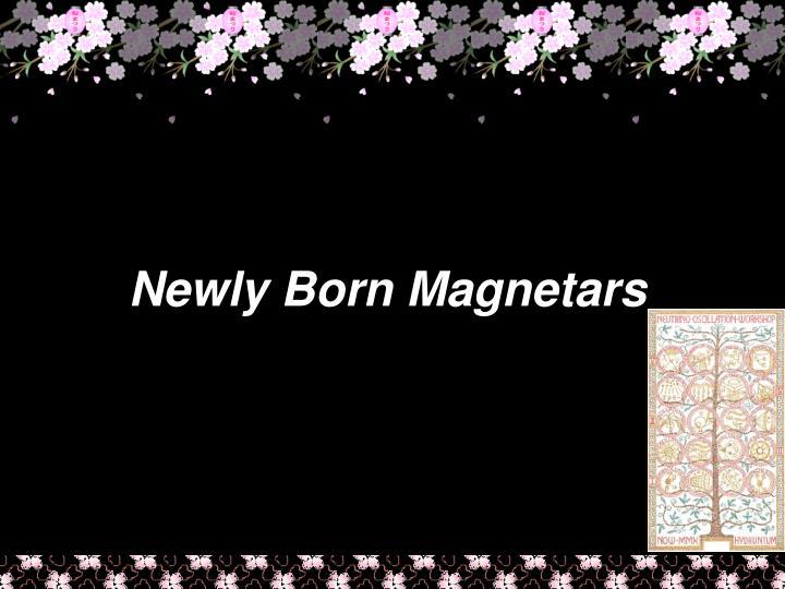 Newly Born Magnetars