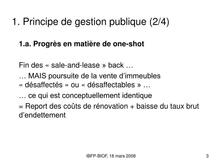1 principe de gestion publique 2 4