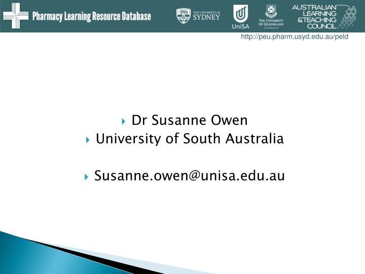 Dr Susanne Owen