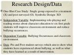 research design data