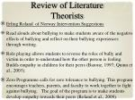 review of literature theorists