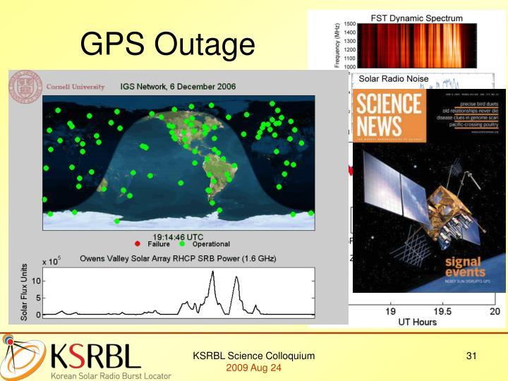 GPS Outage