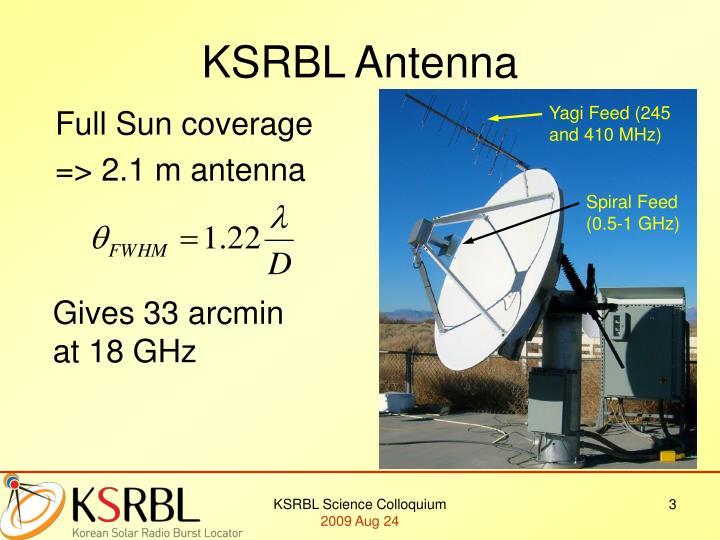 Ksrbl antenna