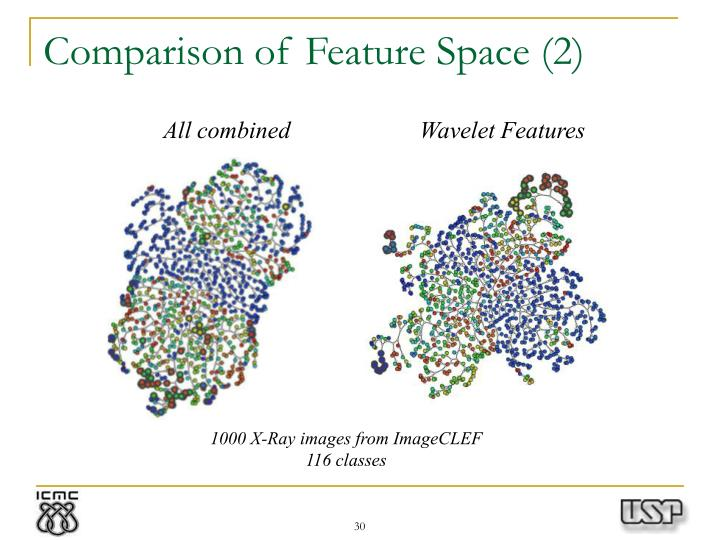 Comparison of Feature Space (2)