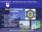 aia 2030 challenge solutions