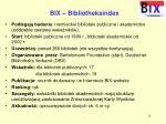 bix bibliotheksindex