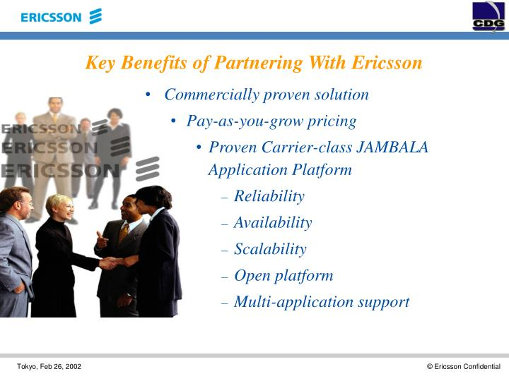 Key Benefits of Partnering With Ericsson