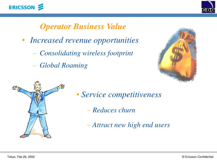 Operator Business Value