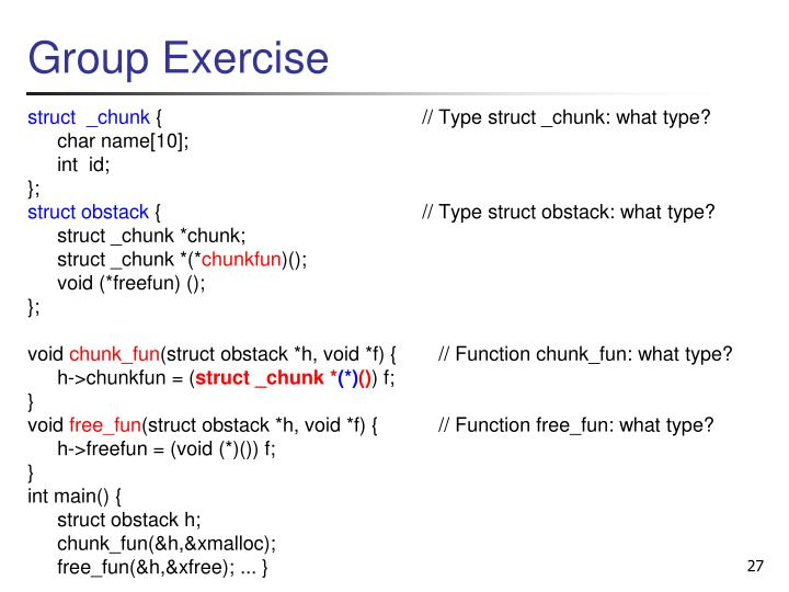 Group Exercise