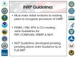 inrp guidelines