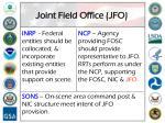 joint field office jfo