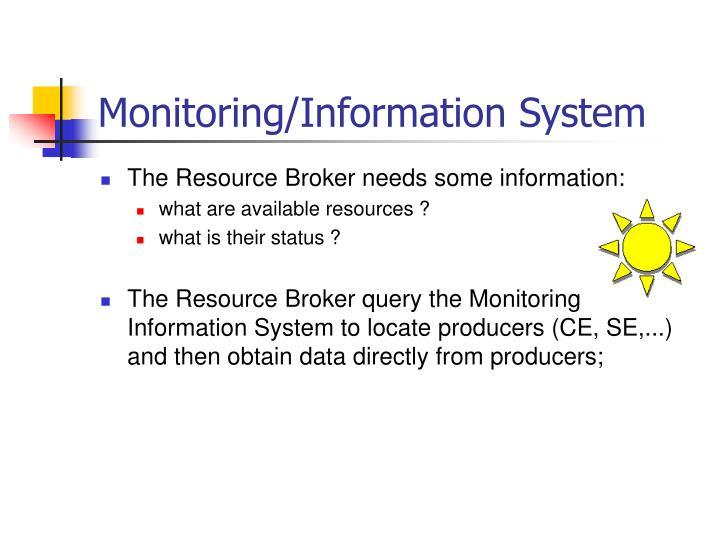Monitoring/Information System