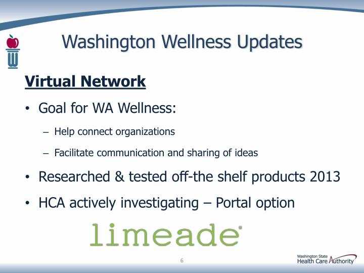 Washington Wellness Updates