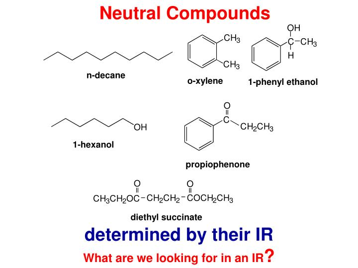 Neutral Compounds