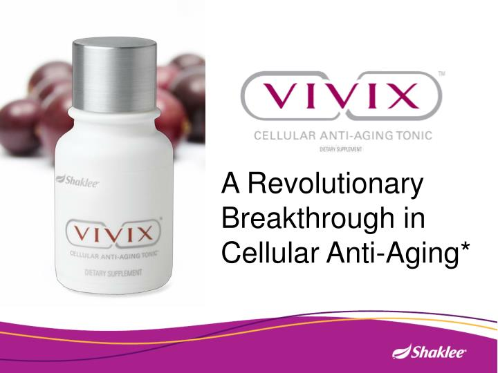 A Revolutionary Breakthrough in Cellular Anti-Aging*