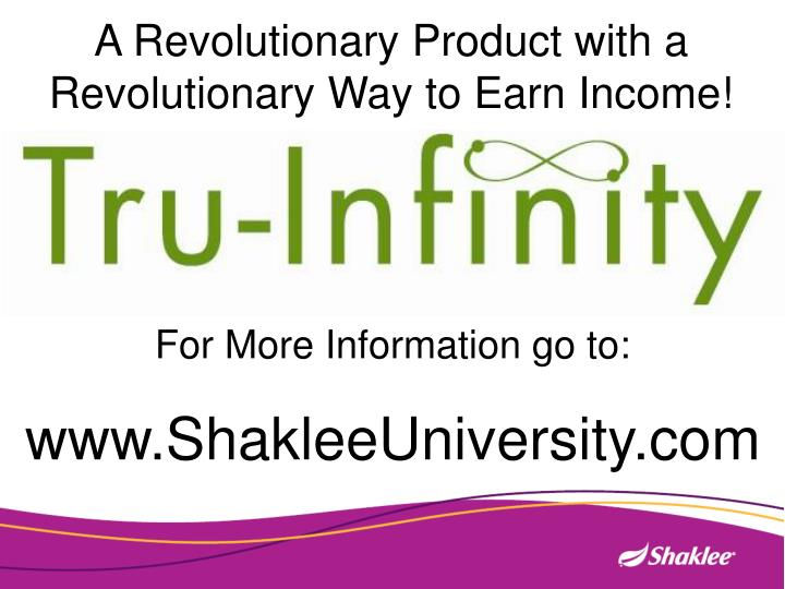 A Revolutionary Product with a Revolutionary Way to Earn Income!
