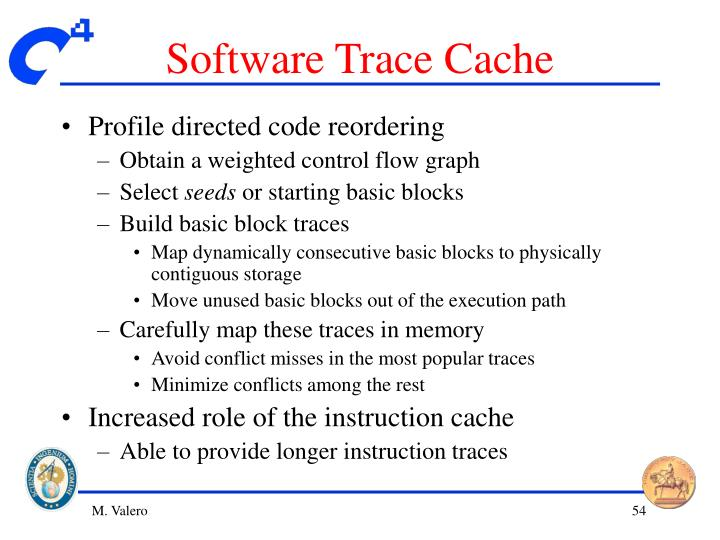 Software Trace Cache