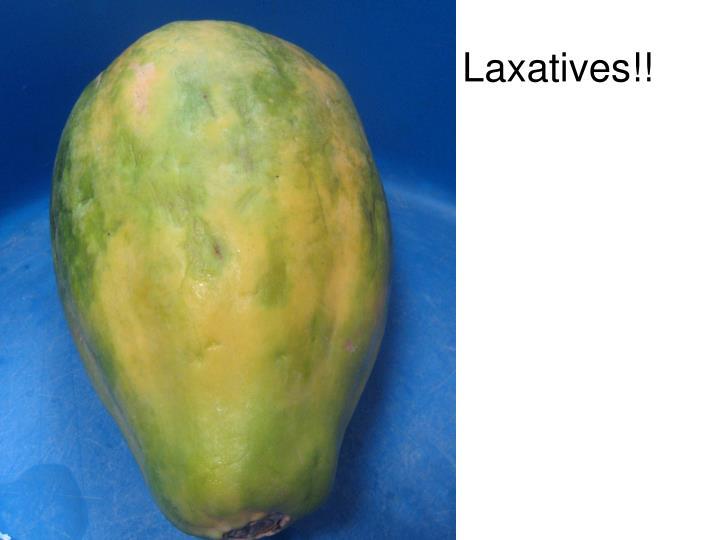 laxatives n.