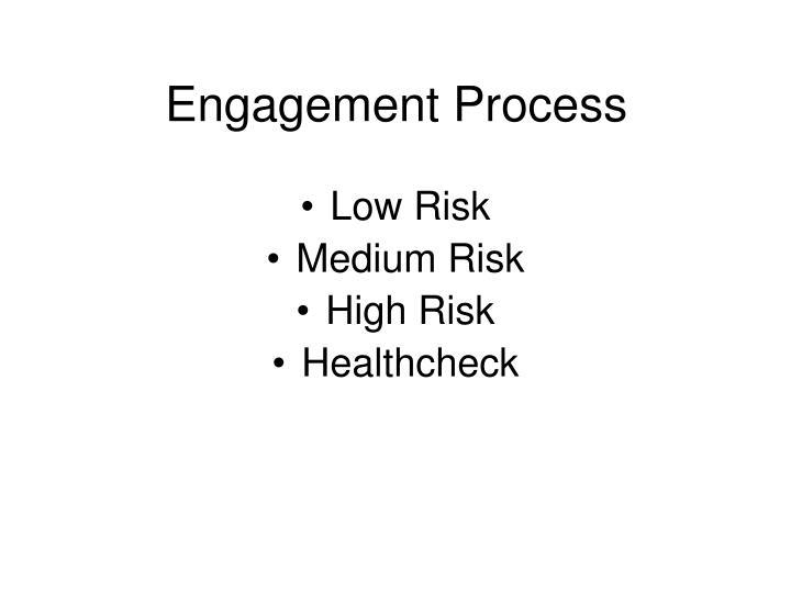Engagement Process