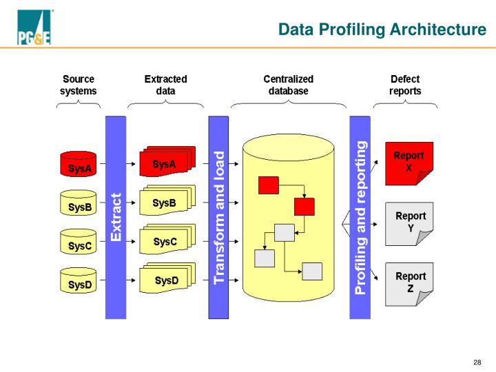 Data Profiling Architecture