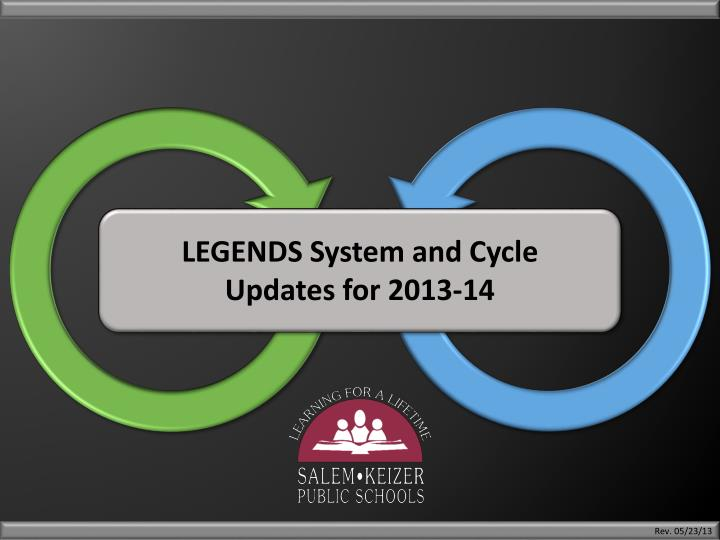 LEGENDS System and Cycle