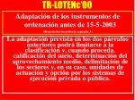 tr lotenc 00