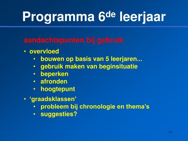 Programma 6