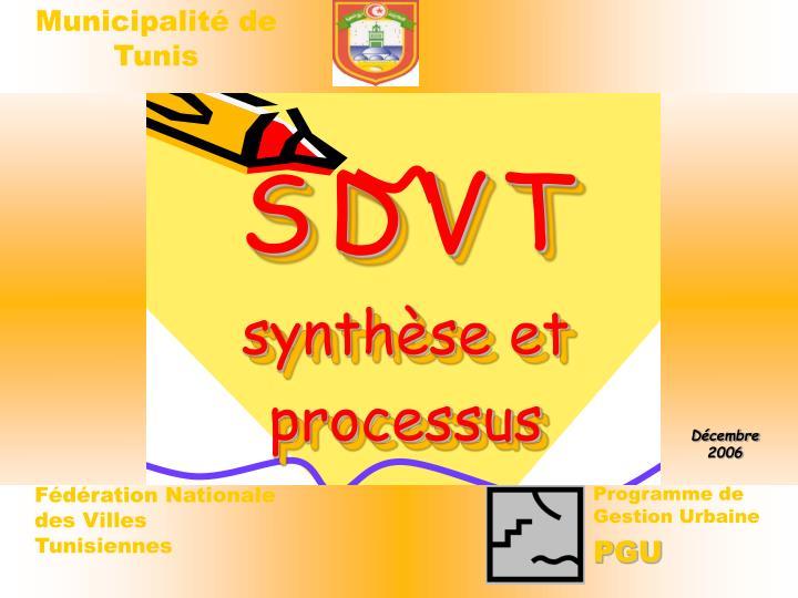 S d v t synth se et processus