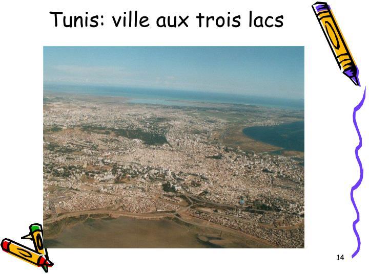 Tunis: ville aux trois lacs