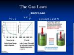the gas laws1