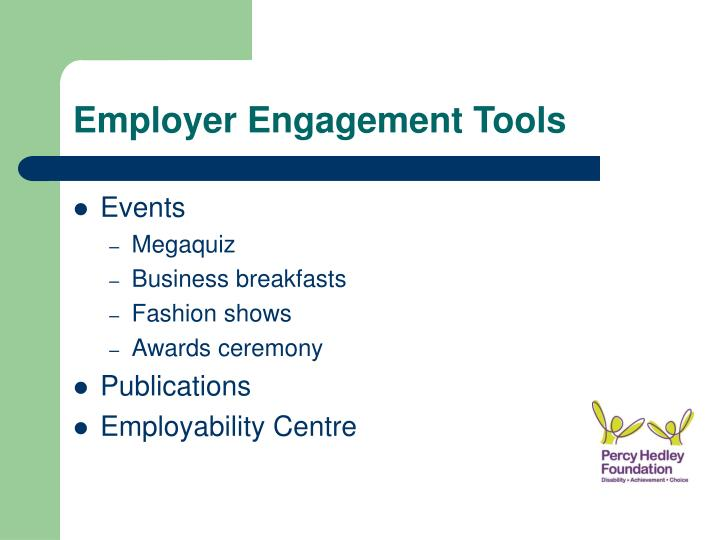 Employer Engagement Tools