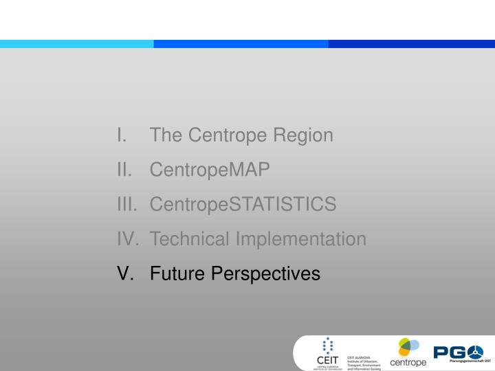 The Centrope Region