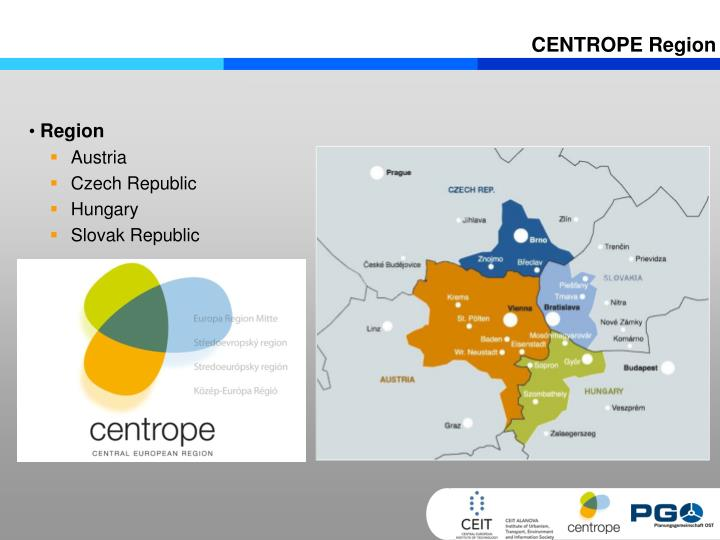 CENTROPE Region
