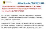 aktualizacja pgo wp 2010