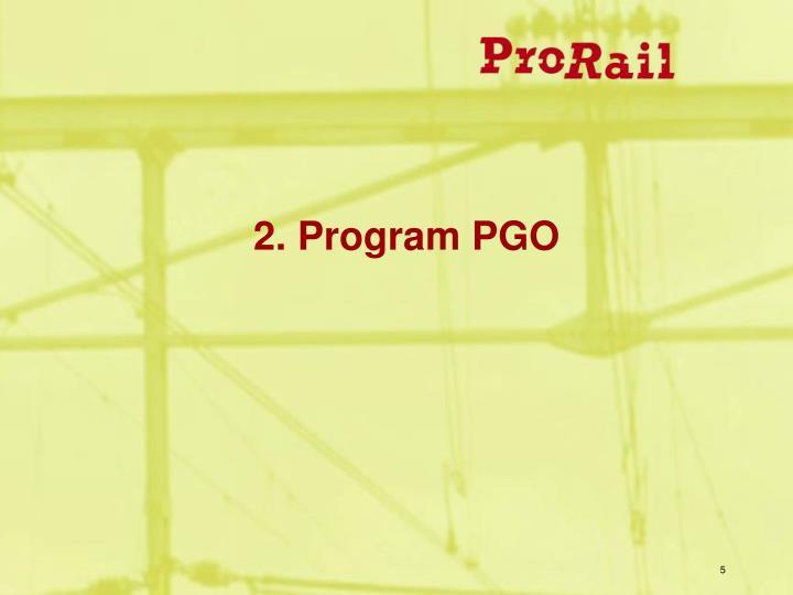 2. Program PGO