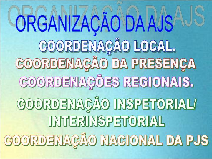 ORGANIZAÇÃO DA AJS