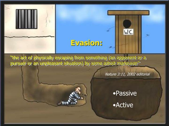 Evasion: