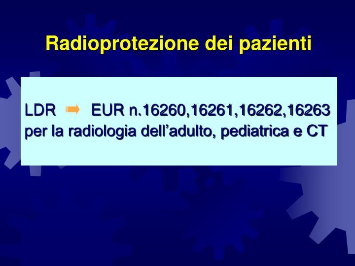 Radioprotezione dei pazienti