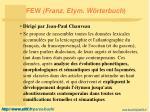 few franz etym w rterbuch1