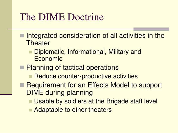 The dime doctrine