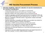 ind vaccine procurement process1