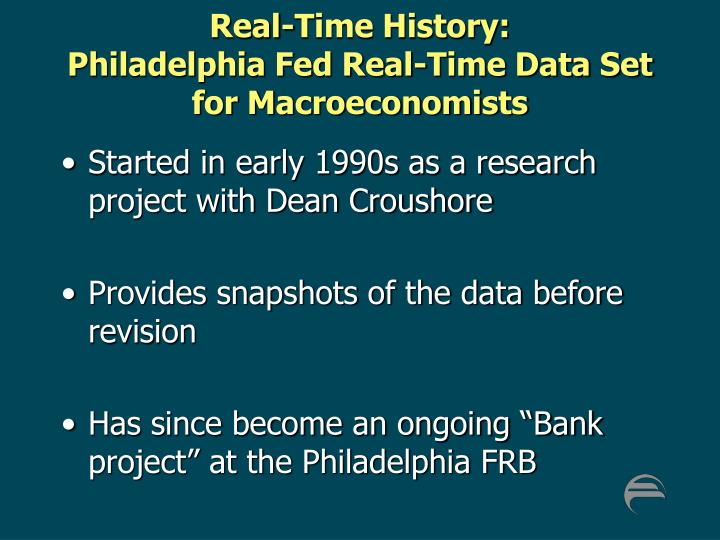 Real-Time History: