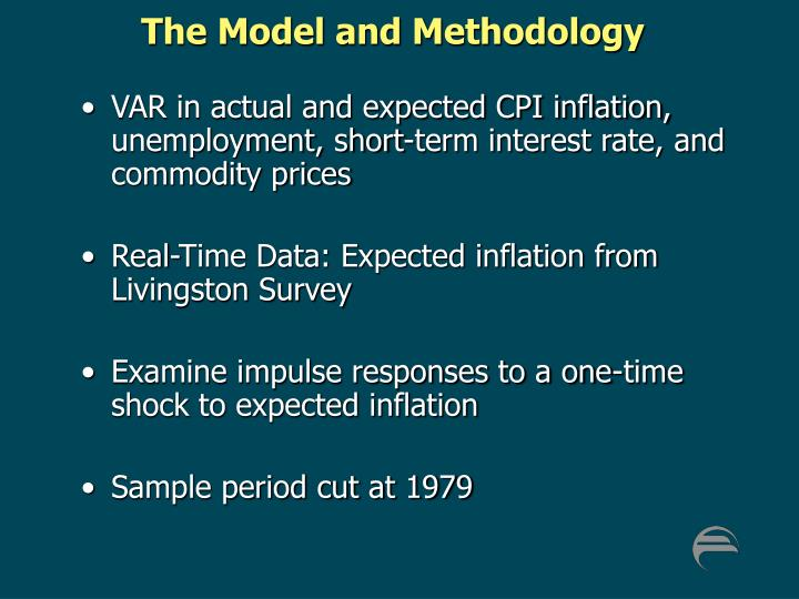 The Model and Methodology