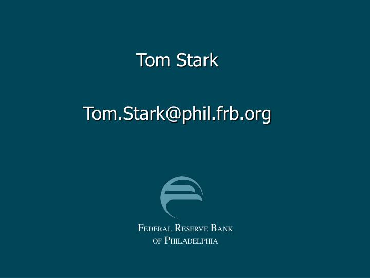 Tom Stark