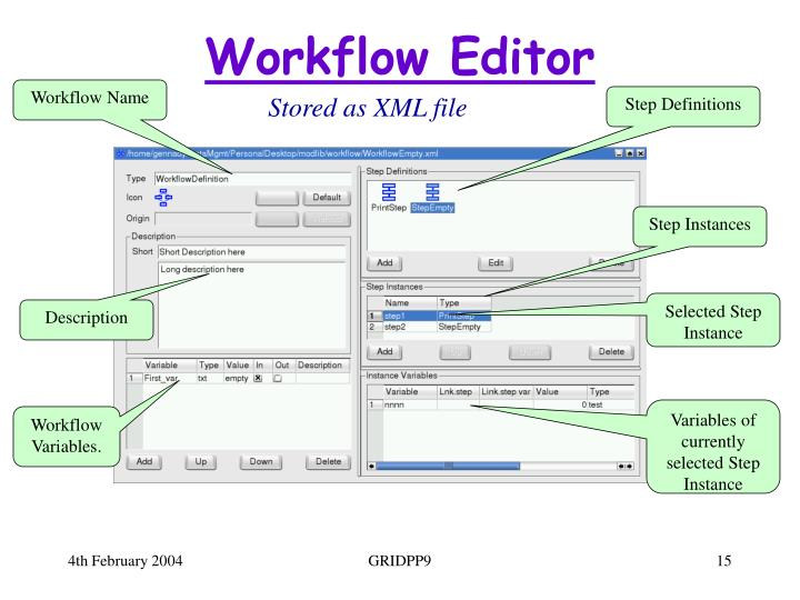 Workflow Editor
