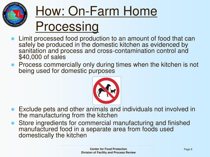 How: On-Farm Home Processing