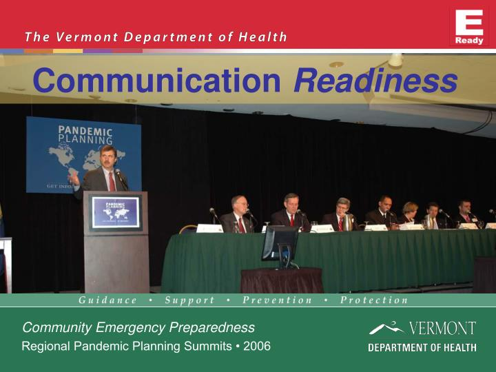 Communication readiness
