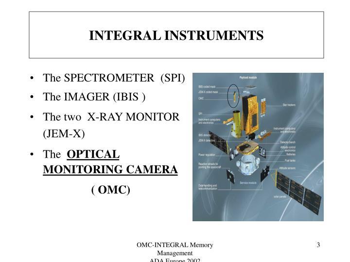 Integral instruments